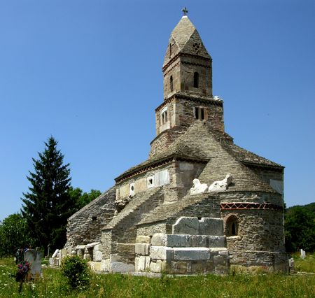 romania: Densus is one of the oldest church in Romania, built in XIII century with the stones from roman Sarmisegetuza