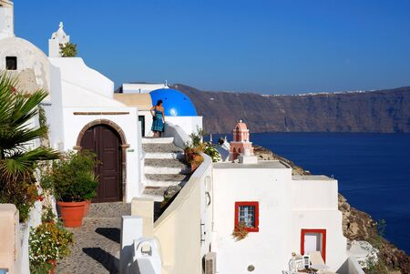 thira: Oia village, Thira (Santorini), Greece