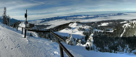 brasov: Poiana Brasov is one of the most known winter resort from Romania and from Eastern Europe.