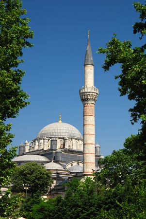 The Bayezid II Mosque (Beyazyt Camii) is an Ottoman imperial mosque located in Istanbul Stock Photo - 8647393