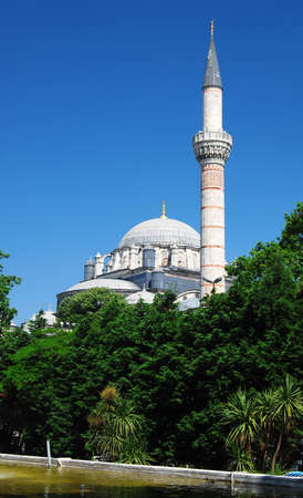 The Bayezid II Mosque (Beyazyt Camii) is an Ottoman imperial mosque located in Istanbul photo