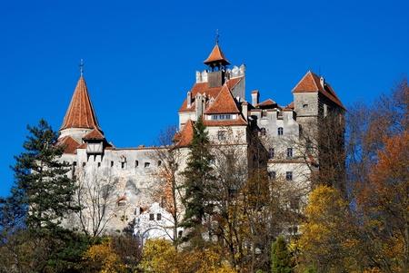 castle rock: Bran Castle, landmark of Romania