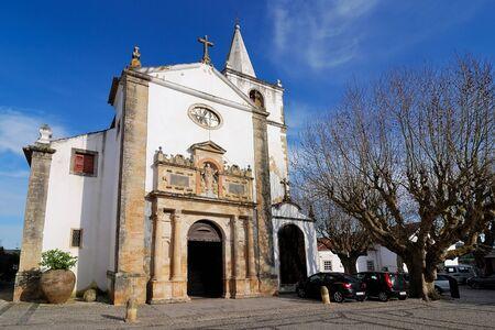 xv century: Church of Santa Maria in Obidos, Portugal, built in XV century