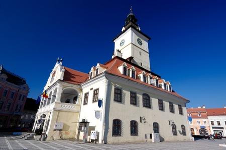 the council: Council Square, Brasov, Romania
