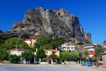 kalambaka: Kalambaka at Meteora, Greece