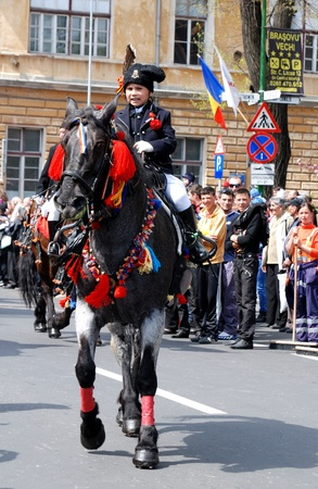 Centrepiece: On the first Sunday after Easter, May 1st 2001 Brasov celebrates Junii Brasovului, the centrepiece of which is a colourful horseback parade the origins of which go back at least as far as the 18th century. A mix of both pagan and Christian rit Editorial