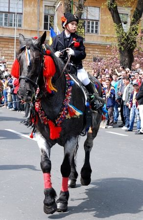 Centrepiece: On the first Sunday after Easter , May 1st 2001  Brasov celebrates Junii Brasovului, the centrepiece of which is a colourful horseback parade the origins of which go back at least as far as the 18th century. A mix of both pagan and Christian rit