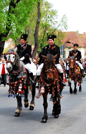 Centrepiece: On the first Sunday after Easter, May 1st 2001  Brasov celebrates Junii Brasovului, the centrepiece of which is a colourful horseback parade the origins of which go back at least as far as the 18th century. A mix of both pagan and Christian rit