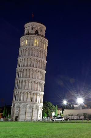 pisa: Scheve toren van Pisa, Toscane