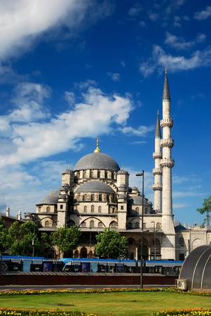 Muslim Istanbul Mosque in Turkey