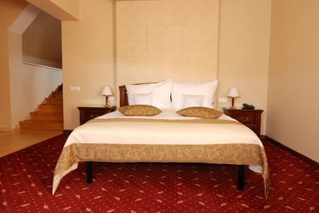 Luxury bedroom in tourist guesthouse Stock Photo - 10830691