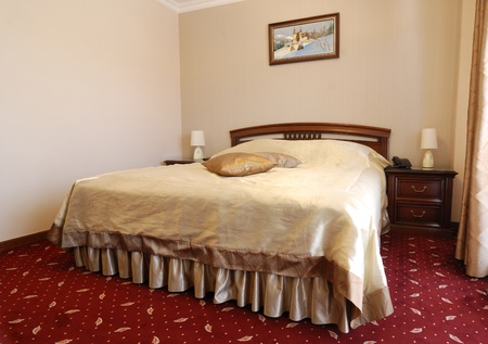Luxury bedroom in tourist guesthouse Stock Photo - 10830686