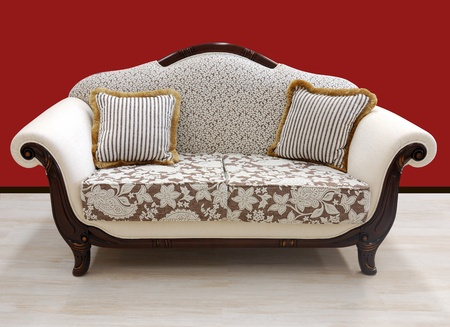 Vintage luxury design style sofa