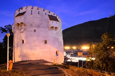 White Tower, fortification of Brasov, from XV century, Romania