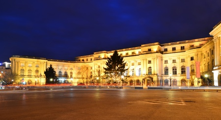 The old Royal Palace of Romanian monarchy, Bucharest, now national public landmark