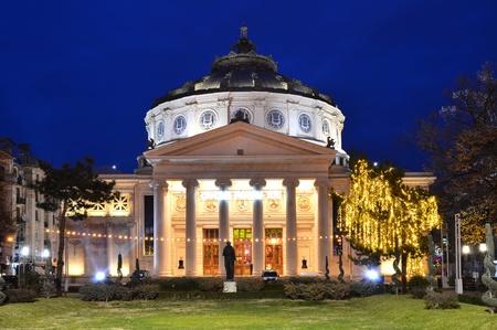Romanian Atheneum, Bucharest 報道画像