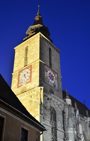 high priest: The Black Church is a cathedral in Brasov, a city in south-eastern Transylvania, Romania.