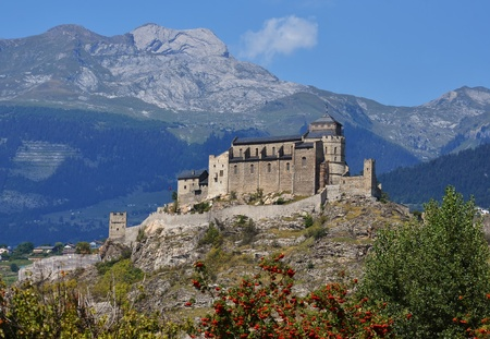 The church (Notre-Dame de Valere) was built during the 12th and 13th centuries and is a fortified church situated in Sion in the canton of Valais in Switzerland.