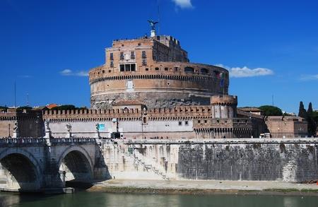 spqr: El Mausoleo de Adriano, generalmente conocido como el castillo de Sant