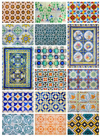 Azulejo,  from the Arabic word Zellige  is a form of Portuguese painted, tin-glazed, ceramic tilework  It has become a typical aspect of Portuguese culture