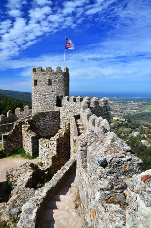 sintra: Castle of the Moors , Sintra, Portugal