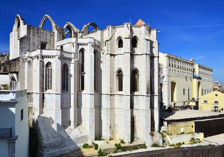 Carmo Convent, Lisbon Stock Photo - 13546842