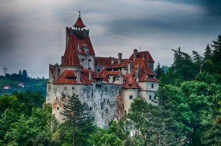 Medieval Bran castle in Romania