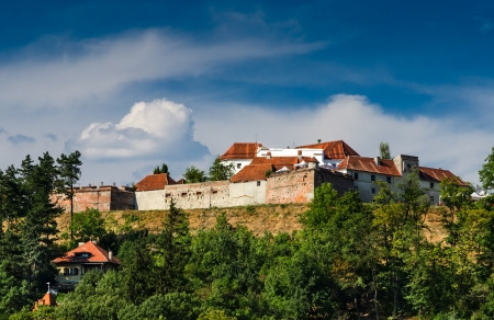 strategically: The Citadel is part of Brasov fortification system