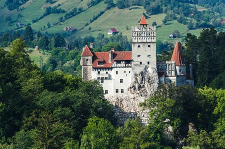 The medieval Castle of Bran