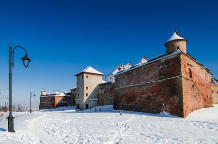strategically: Brasov Citadel is part of the city outer fortification system  The stone Citadel was built in 1553 for protective purposes, and abbandoned in XVIIIth century  Editorial