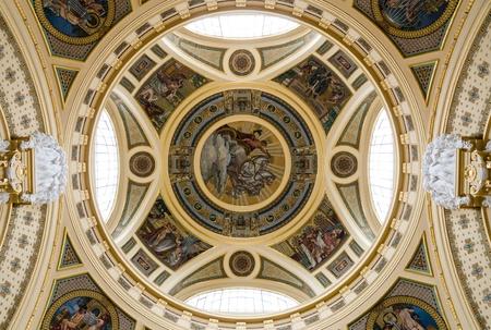 szechenyi: C�pula de Szechenyi Baths, Budapest