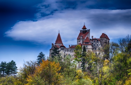 Medieval Bran castle in Romania, known for Dracula story Stock Photo - 16287194