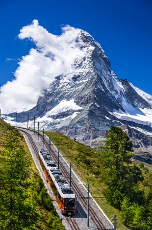 confederation: The Gornergratbahn is a 9 km long gauge mountain rack railway, with Abt rack system  It leads from Zermatt  1604 m , up to the Gornergrat  3089 m