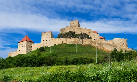 brasov: Rupea fortress is in Brasov county, Transylvania, Romania  Built in XIVth century by saxon rebels, nowday is ruined