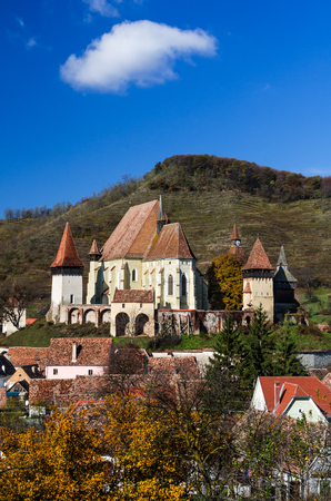 biertan: Biertan is one of the first German settlements in Transylvania, with fortified church. Romania.