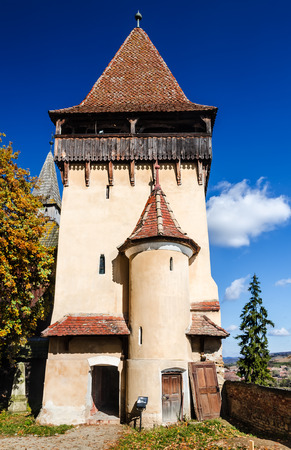 biertan: Biertan, Romania. One of saxon settlements in Transylvania, with fortified church, medieval landmark, built in 15th-16th centuries.