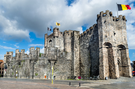 Gravensteen is a castle in Gent, Ghent built in 1180 Middle Ages, bought in 1185 by city