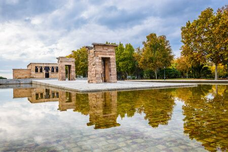 2nd century: Madrid, Spain. Templo de Debod, donated by Egypt, dedicated to the goddess Isis, in Philae, built in 2nd century BC