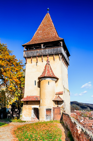 biertan: Biertan, Romania. One of the most important Saxon villages with fortified churches in Transylvania. Romania.