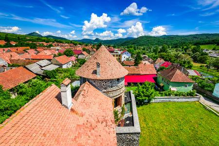 brasov: Transylvania, Romania. Bethlen Castle, built in 17th century in Racos, Brasov county, by local hungarian nobles.