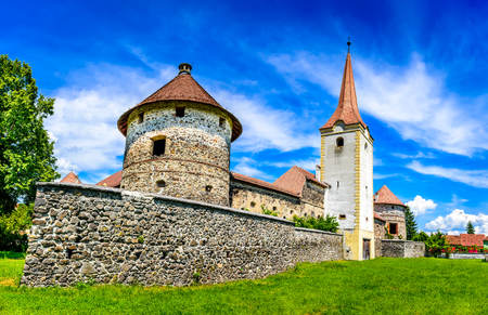 17th century: Transylvania, Romania. Bethlen Castle, built in 17th century in Racos, Brasov county, by local hungarian nobles.