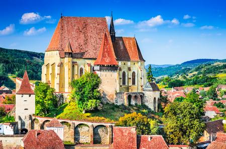 biertan: Biertan, Transylvania. Touristic Saxon village with fortified church in Romania