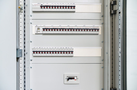 uninterrupted: Low-voltage cabinet for power and distribution electricity. Uninterrupted, electrical voltage.