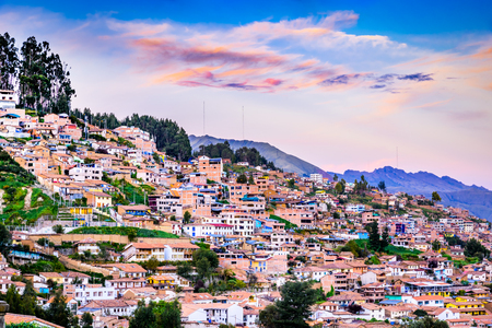 Cusco, Peru - City in southern Peru, in the Urubamba Valley of the Andes mountain range.