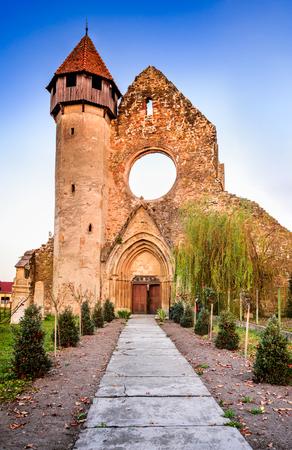 Carta, Romania - Carta Monastery, former Cistercian (Benedictine) religious architecture in Transylvania.