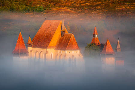 Biertan, Transylvania. One of the first Saxon (German) settlements in medieval Romania.