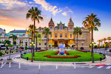 Monte Carlo, Monaco - July 2018 - The Monte Carlo Casino, gambling and entertainment complex in Monte Carlo, Monaco, Cote de Azur, Europe. Redakční