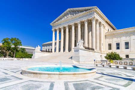 Washington, USA - Supreme Court of the United States of America located in Washington DC. 新闻类图片