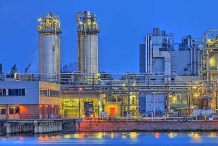 化学製品製造施設
