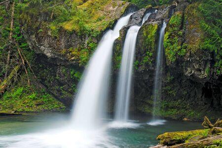 鉄クリークの滝、ワシントン州
